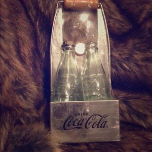 Coca Cola glass  Salt & Pepper Shakers